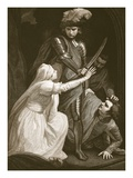 The Seizing of Mortimer, Engraved by J. Fittler Giclee Print by John Opie