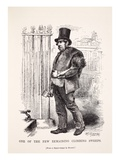 One of the Few Remaining Chimney Sweeps, from the Daguerreotype by Richard Beard Giclee Print by  English