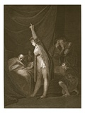 The Death of Cardinal Beaufort, Engraved by W. Bromley Giclee Print by Henry Fuseli