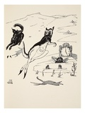 Old Man Kangaroo at Five in the Afternoon, Illustration from 'Just So Stories for Little Children' Giclee Print by Joseph Rudyard Kipling