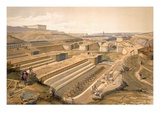 Docks at Sebastopol, Plate from 'The Seat of War in the East' Giclee Print by William 'Crimea' Simpson