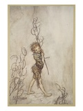 Lord, What Fools These Mortals Be!, Illustration from 'Midsummer Nights Dream' Giclee Print by Arthur Rackham
