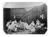 Women in Algiers, C.1860 (B/W Photo) Giclee Print by Jacques Antoine Moulin