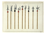 Lances, Spears, Halberds and Partisanes Giclee Print by Friedrich Martin Von Reibisch