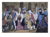 The Bread and Butter Manufactory, or the Humors of Bagnigge Wells, Pub. by Carington Bowles, 1772 Giclee Print by  English