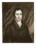 Daniel D. Tompkins (1774-1825) Engraved by Thomas A. Woolnoth (1795-1857) (Engraving) Reproduction procédé giclée par John Wesley Jarvis