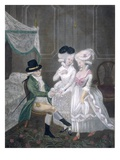 Sr. Timothy Thicketts First Reel to London, Or, the Beauties of Kings Place Giclee Print by  English
