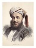 Sultan of Zanzibar Giclee Print by  English