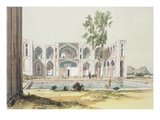 The Palace of Tchar-Bag at Isfahan, Persia, Plate 99 from 'A Voyage in Turkey and Persia' Giclee Print by Jules Joseph Augustin Laurens