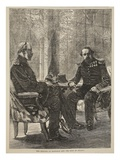 The Meeting of Napoleon and the King of Prussia, September 1870 Giclee Print by  French