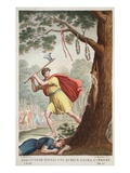 Erysichthon's Pride, Book VIII, Illustration from Ovid's Metamorphoses, Florence, 1832 Giclee Print by Luigi Ademollo