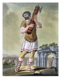 A Lictor, Bearer of the Fasces, Illustration from &#39;L&#39;Antique Rome&#39;, Engraved by Labrousse Giclee Print by Jacques Grasset de Saint-Sauveur