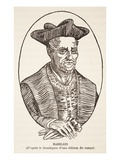 Francois Rabelais (Litho) Giclee Print by  French
