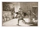 A Roman Comedy (Litho) Giclee Print by  English