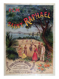 Poster Advertising P.L.M. Trains to St. Raphael (Colour Litho) Giclee Print by J. Minot