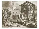 Hangings and Torture from 'Beschreibung Der Ost-Indischem Kusten Malabar Und Coromandel... Giclee Print by Philip Baldaeus