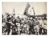 The Fuehrer and Sa at the Weimar Rallies on the 3rd and 4th July, 1926 Giclee Print by  German photographer