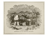 Cromlech at Plas Newydd, Anglesey (Litho) Giclee Print by  English