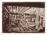 The Building of the Paris Opera (B/W Photo) Giclee Print by  French Photographer