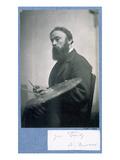 Albert Joseph Moore (B/W Photo) Giclee Print by Frederick Hollyer