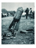 Used Alternatively with Bombs: an Aerial Torpedo in a Trench-Mortar Giclee Print by  French Photographer