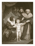 D. of York, Brother to Ed. V, Resigned by the Queen, Engraved by J. Fittler Giclee Print by John Opie