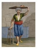A Halvadgi, Plate 57 Reproduction proc&#233;d&#233; gicl&#233;e par Jean Baptiste Vanmour