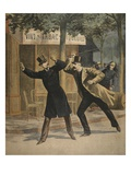 An Incident Between Esterhazy and Picquart Giclee Print by  French