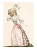 Robe De La Czarine, Plate from &#39;Galeries Des Modes Et Costumes Francais&#39;, C.1778-87 Giclee Print by Jean Florent Defraine