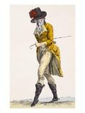 L'Agiateur Du Palais Royal', Engraved by Baquoi, Plate No.282 Giclee Print by Francois Louis Joseph Watteau