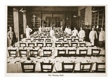 The Dining Hall, Donington Hall, Illustration from 'German Prisoners in Great Britain' Giclee Print by  English Photographer