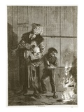 A Petroleuse, April 1871 Giclee Print by  French