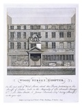 Wood Street Compter (Engraving) Giclee Print by  English