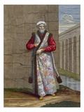 The Captain Pacha, Plate 36 Giclée-Druck von Jean Baptiste Vanmour