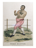 Isaac Bitton, Engraved by P. Roberts, Published 1822 (Colour Litho) Giclee Print by Isaac Robert Cruikshank