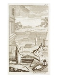 Grave Robber Disturbing the Dead (Engraving) Giclee Print by  English