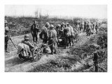 Repatriation for Wounded German Soldiers (B/W Photo) Giclee Print by  German photographer