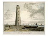 The Orford Nefs Lighthouses, Suffolk Giclee Print by William Daniell