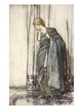 Helena, Illustration from 'Midsummer Nights Dream' by William Shakespeare, 1908 (Colour Litho) Giclee Print by Arthur Rackham