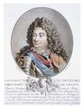 Claude Louis Hector De Villars Giclee Print by Antoine Louis Francois Sergent-marceau