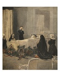 Madame Carnot on Her Deathbed, Illustration from 'Le Petit Journal: Supplement Illustre' Giclee Print by  French