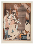 Hot Coals, Illustration from 'The Works of Hippocrates', 1934 (Colour Litho) Giclee Print by Joseph Kuhn-Regnier