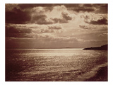 An Effect of the Sun, Normandy C.1857 (Sepia Photo) Giclee Print by Gustave Le Gray