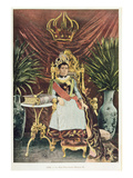 Portrait of the Last Queen of Madagascar, Ranavalona Iii (1862-1917), Late 19th Century Giclee Print by  French