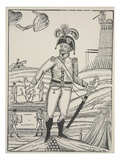 Tombe De Malborouk, C.1722 (Engraving) Giclee Print by  French