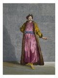 A Wallachian Gentleman, Plate 80 Reproduction proc&#233;d&#233; gicl&#233;e par Jean Baptiste Vanmour