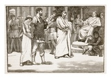 Virginia in the Forum (Litho) Giclee Print by  English