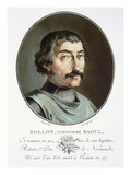 Rollo the Dane, Duke of Normandy Giclee Print by Antoine Louis Francois Sergent-marceau