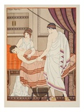 Those Who Tremble at the Hand of a Doctor, Illustration from 'The Works of Hippocrates', 1934 Giclee Print by Joseph Kuhn-Regnier