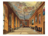 The Ball Room, Windsor Castle, from 'Royal Residences', Engraved by Thomas Sutherland (B.1785) Giclee Print by Charles Wild